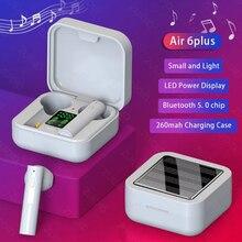 Geeignet für alle smartphones Xiaomi Air6 Plus TWS Drahtlose Bluetooth Kopfhörer Unterstützung Solar Lade Wasserdichte PK Air 2se