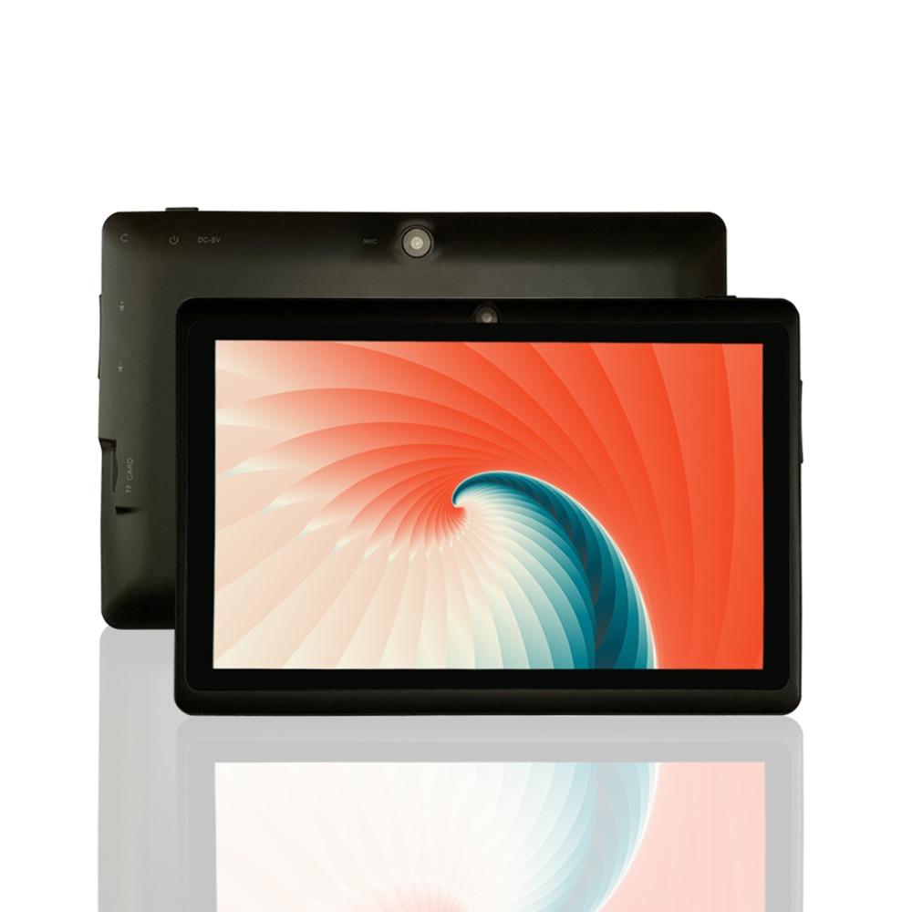 PRITOM K7 Mini 7 Inch Tablet Android 9.0 PC 1GB RAM 16GB ROM Quad Core Tablets WiFi Bluetooth Camera Multi-language Supported