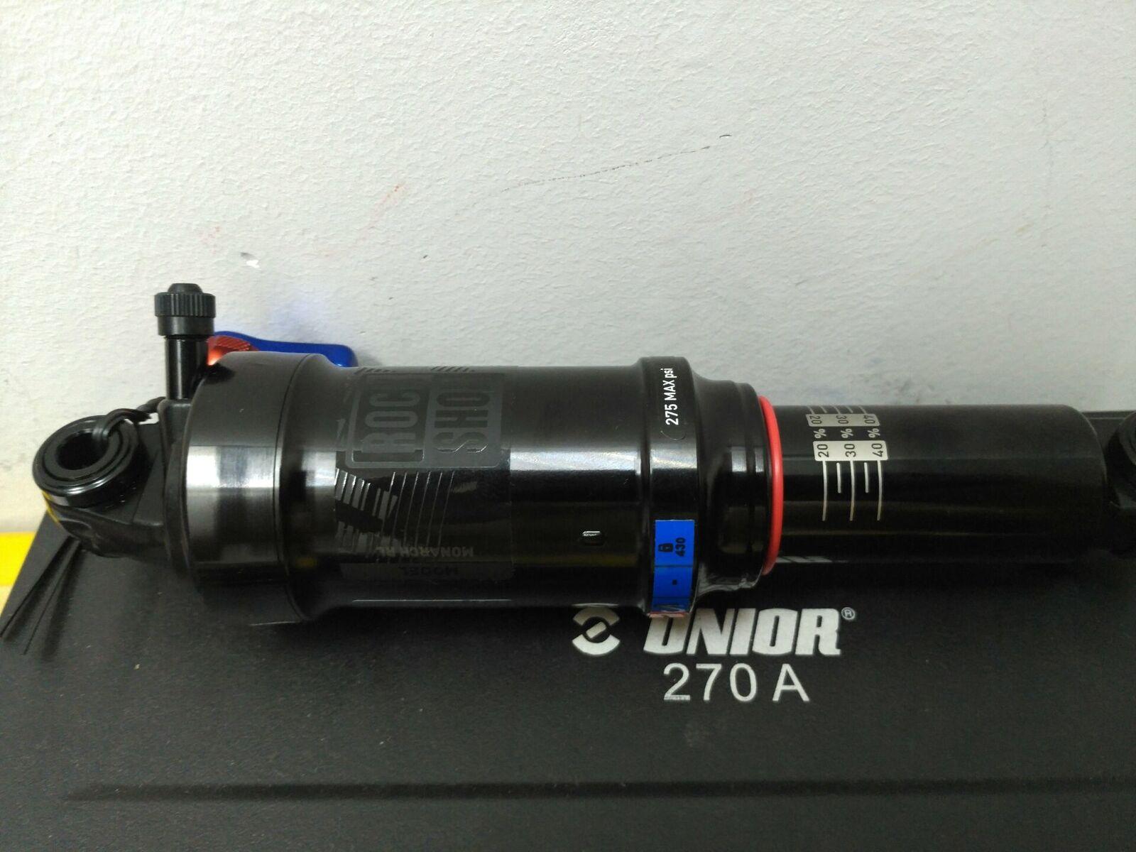 Amortiguador trasero Rockshox Monarch RL tamaño completo TUNE MM