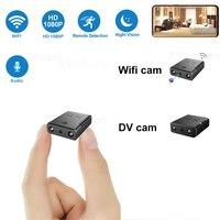 Minicâmera de vigilância interna, 1080p, full hd, wifi, com visão noturna, detecção de movimento, gravador de voz e vídeo