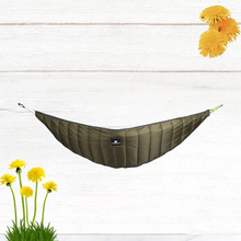 Thickened Outdoor  Camping Hammock Insulation Cover Winter Windproof Warm Cotton Hammock Leisure Hammock Accessories (Ar