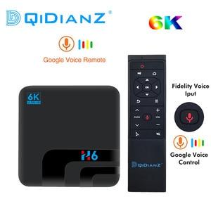 Image 1 - Android 9.0 H6 MAX Allwinner H6 telewizor 4G 32G HD 6k odtwarzacz multimedialny TV, pudełko Google Voice Assistant