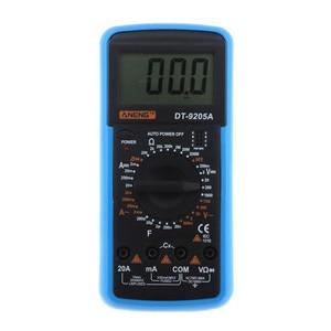 Image 3 - DT9205A כף יד דיגיטלי מודד LCD AC DC אוטומטי טווח כוח מודד מד זרם Ohmmeter התנגדות קיבול מד