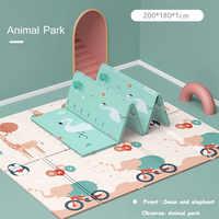 XPE przyjazne dla środowiska grube dziecko indeksowania mata do zabawy mata składana dywan mata do zabawy dla dzieci Mat Kid dywan Playmat