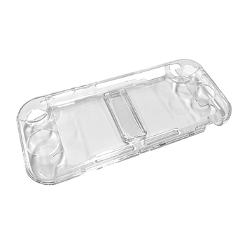 Crystal Transparent Case Protective Cover Environmentally Friendly PC Skin Fit for Nintendo Switch Lite Bracket Function