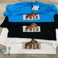 Adererror T Hemd Ader Fehler T-shirt Schöne Schlaf Bär Cartoon Paar Casual T-shirt