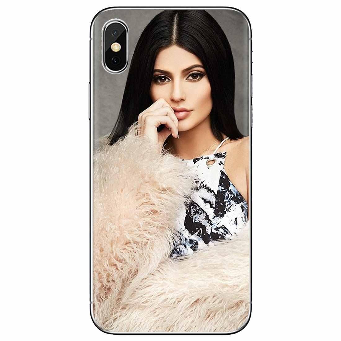 Samsung Galaxy not 2 3 4 5 8 9 S2 S3 S4 S5 Mini S6 S7 kenar S8 S9 artı yumuşak kılıf konut Kylie Jenner yıldız Broke Girls kılavuzu