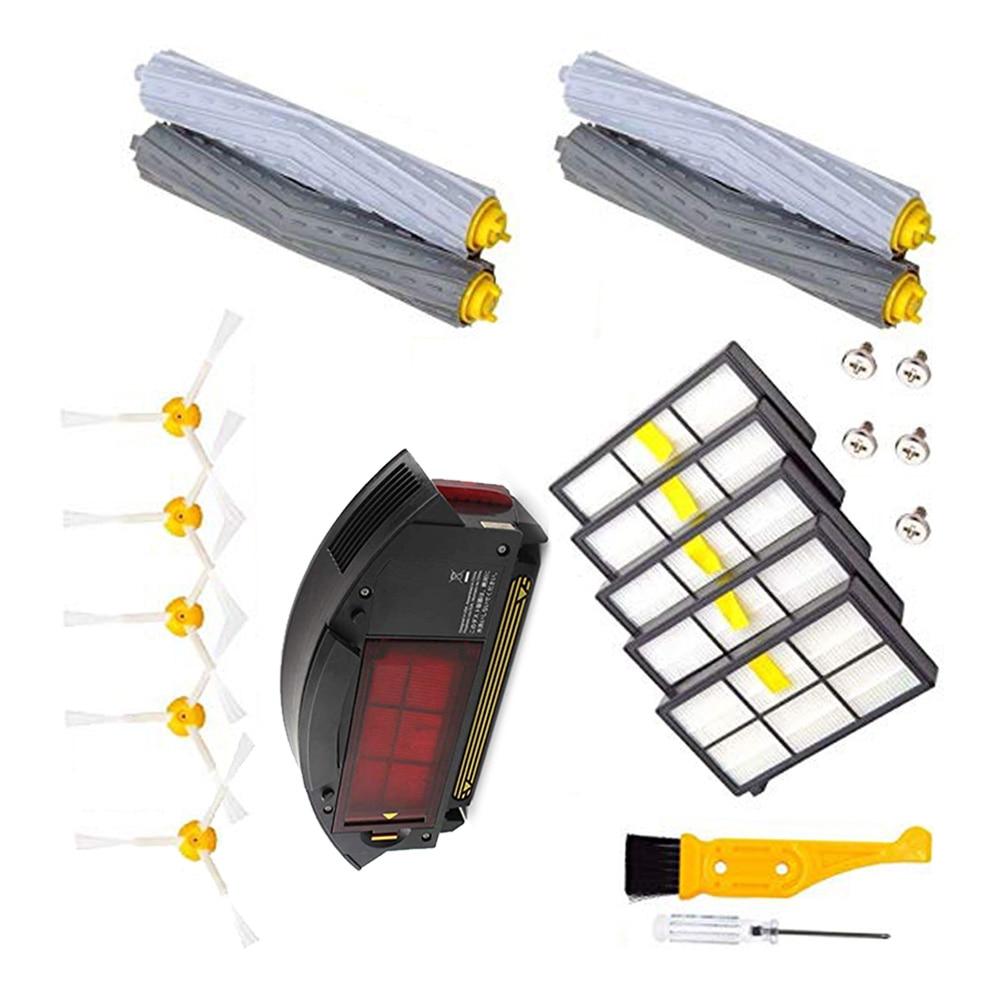 Для iRobot Roomba 800 900 фильтры коробка для пыли боковые щетки щетка для очистки - 2
