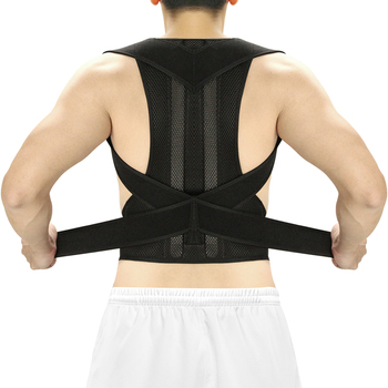 Aptoco Posture Corrector Back Brace Clavicle Support Stop Slouching and Hunching Adjustable Trainer Unisex - discount item  31% OFF Health Care