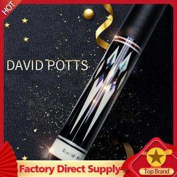 David Potts Billiard Pool Cue Stick 12.75mm with Pool Cue Case Set Professional High Quality Billiard Stick Kit China 2019
