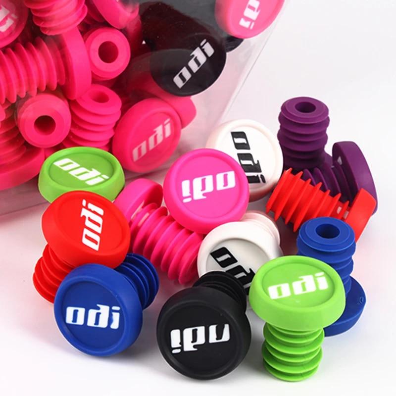 Odi  End Plugs   for ODI Grips in  Pink