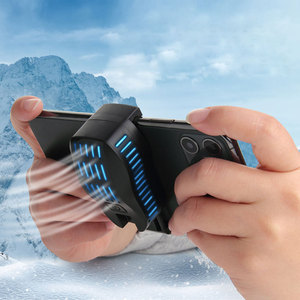 Image 1 - P20 Phone Cooler Gamer Mobile Phone Fan Semiconductor Cooling Pad Universal Cell Smartphone Cooler Fan Game Cooling Cap