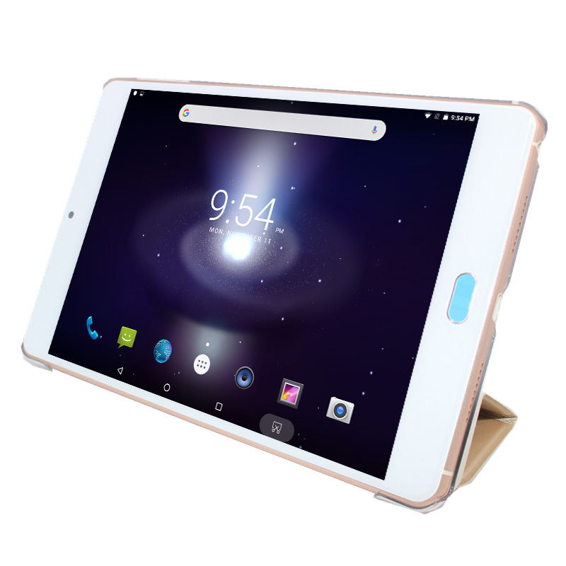 Sales!!8 Inch Andriod 6.0 .3+16GB With Original  Leather Case Deca-Core 2048 X 1536 IPS Screen Super Thin 6mm