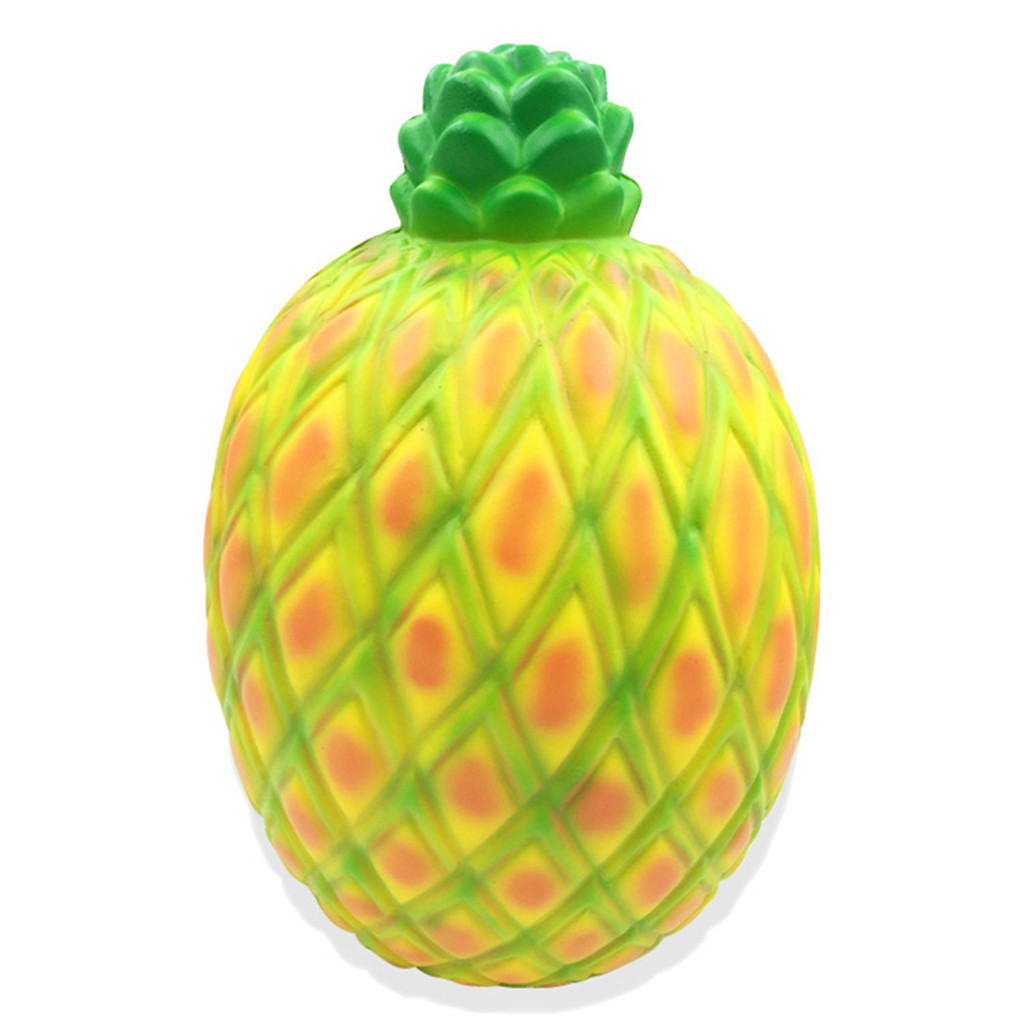 Jumbo Soft Pineapple Slow Rising Squeeze Toy Decompression Slow Rebound Toys Boys And Girls Punching Bag Anti Stress #D