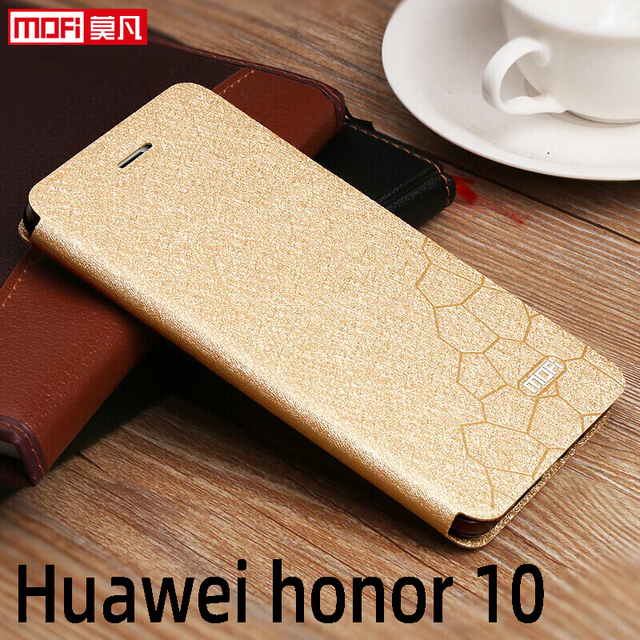 flip case for huawei honor 10 case Honor 10 cover leather tpu slim book back luxury glitter Mofi silicon Honor 10 stand case pu