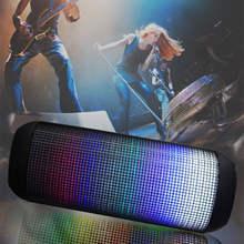 Pulso x2 alto-falante bluetooth led sem fio luz leaderportable baixo bom alto falantes fazer tf soundbar som auxiliar subwoofer