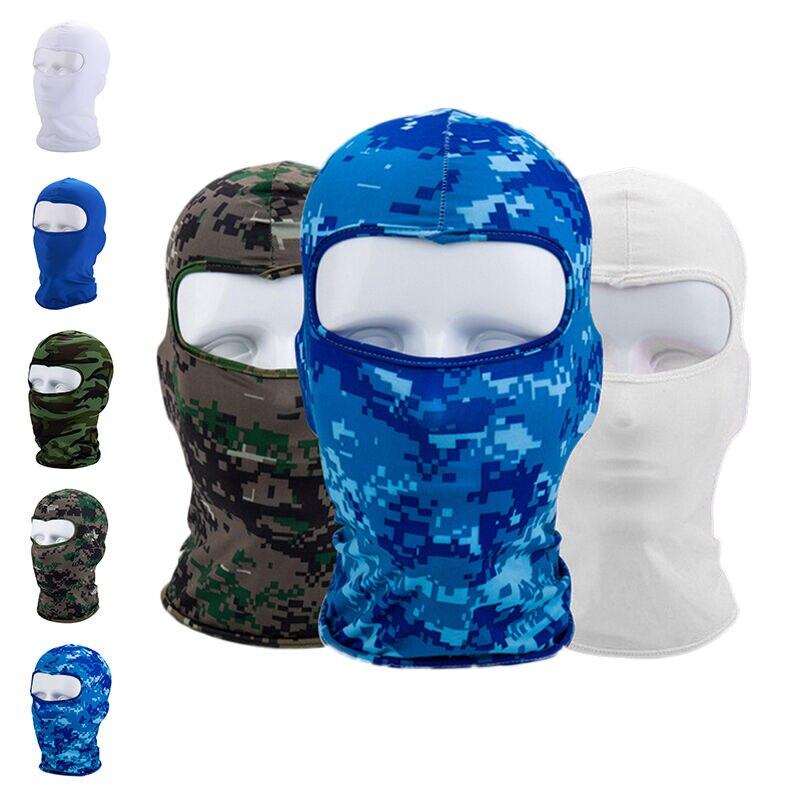 Scarf Tube Neck-Warmer Ski-Balaclava Full-Face-Mask Outdoor Protecting Lycra Lightweight