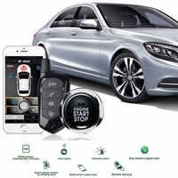 For Vitz Remote Start Keyless Entry Autostart Central Locking Theft Key Fob Car Alarm System Pke Start Stop Button Trunk Opening