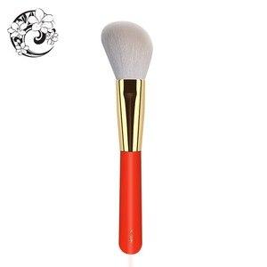 Image 2 - Контурная кисть из козьего волоса, косметические кисти для макияжа Pinceaux Maquillage Brochas Maquillajes S106W