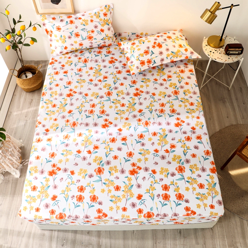Bonenjoy 3 pcs Sheet on Rubber Band Kids Bed Sheet Cartoon Cars Printed Fitted Sheet for Boy Single Fitted Bed Sheet 13