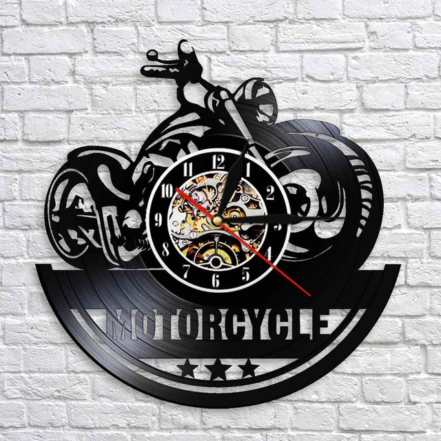 Motorcycle Wall Clock 10