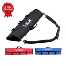 Okçuluk yay çantası omuz taşıma kolu çekim avcılık haddelenmiş olimpik yay çantası katlanabilir olimpik yay çantası