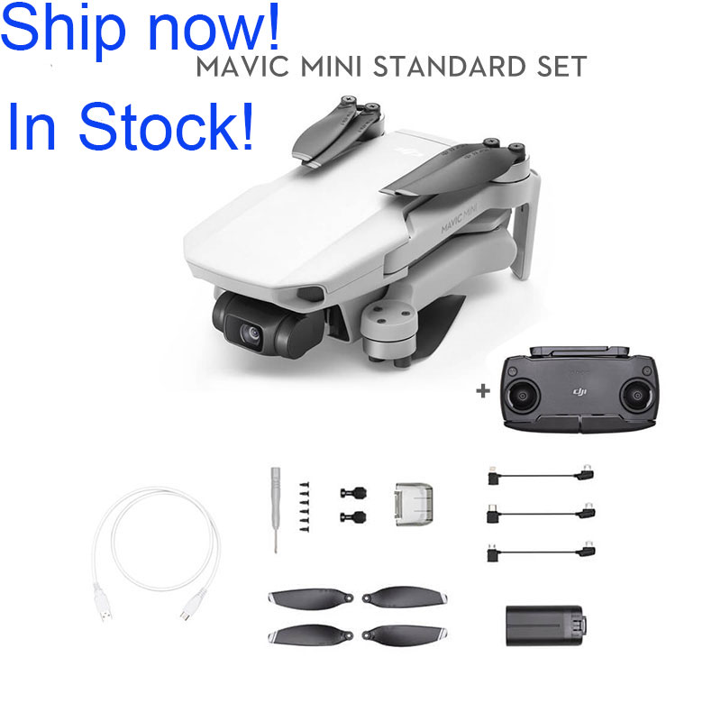 DJI Mavic Mini drone with 2.7k camera flight time 30 minutes weight 249g original in stock on AliExpress