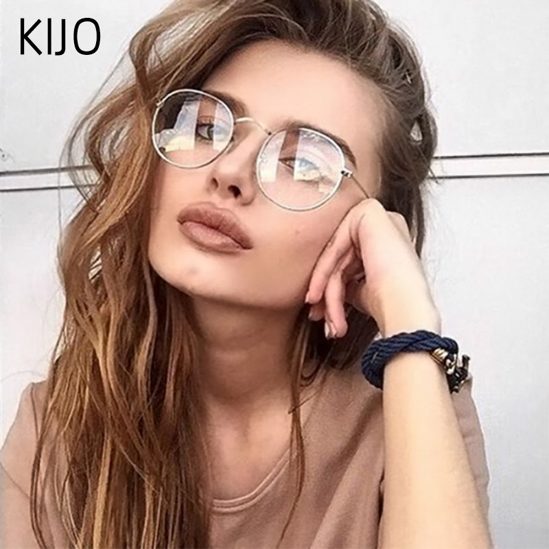 2019 New Fashion  Frame Clear  Glasses Women  Eyeglasses Frame Spectacle Transparent  Nerd	Frames Lens Glasses Men
