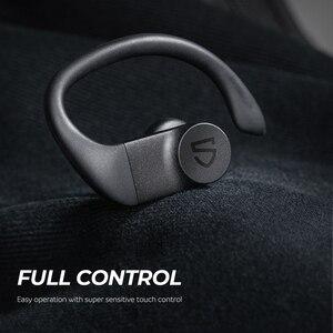 Image 3 - SOUNDPEATS True sans fil écouteurs sur oreille crochets Bluetooth stéréo sans fil écouteurs 13.6mm pilote contrôle tactile IPX7 étanche