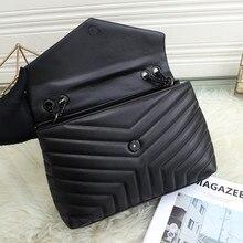 32cm Large Luxury Fashion Designer Soft Leather Quilted Elegant Shoulder Bag Women's Chain Shoulder Strap with Flap Handbag Tote