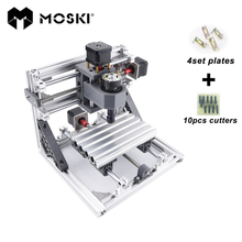 CNC 1610 with ER11,diy cnc engraving machine,mini Pcb Milling Machine,Wood Carving machine,cnc router,cnc1610,GRBL cnc 2417 500mw diy cnc engraving machine mini pcb pvc milling machine metal wood carving machine cnc router cnc2417 grbl control