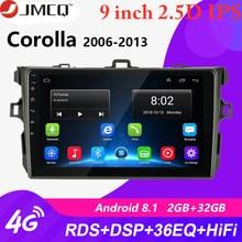 все цены на Android 2G+32G Car Radio for Toyota Corolla E140/150 2006 2007 2008 2009 2010 2011 2012 2013 GPS Navigation Autoradio Head Unit онлайн