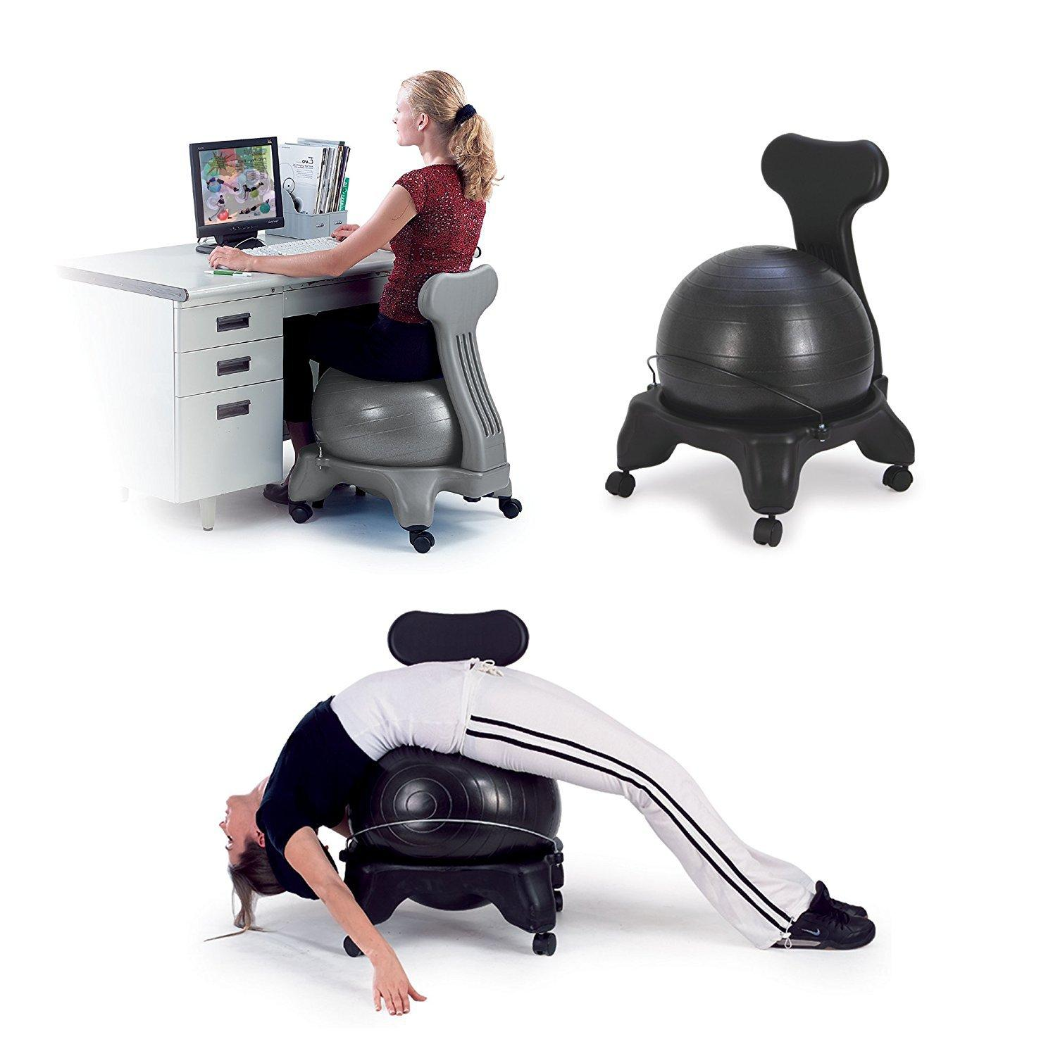 Yoga Ball Chair Office Chair Recovery Treatment Chair Stretch Seat Body-Adjustment Seat Fitness Stool Chair Free Shipping