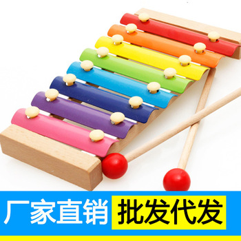 Music Instrument Toy Wooden Frame Style Xylophone Children Kids Musical Funny Toys Baby Educational Toys Gifts Baby Xylophone 15 notes wooden xylophone musical instrument toy early learning educational toys birthday gift for children kids