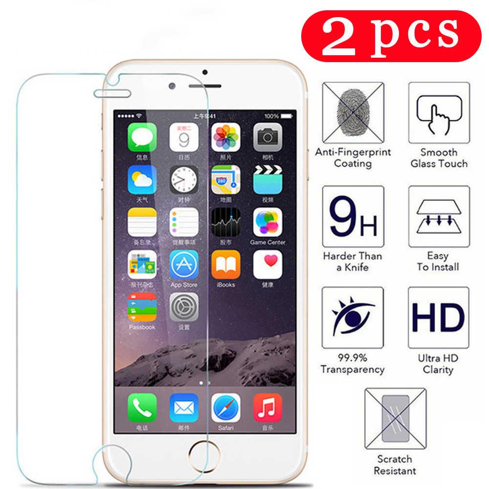 Szkło hartowane dla iphone 11 pro X XR XS MAX folia ochronna dla iphone 7 8 plus 6 6S 5 5S SE 5C 4 4S folia ochronna na telefon