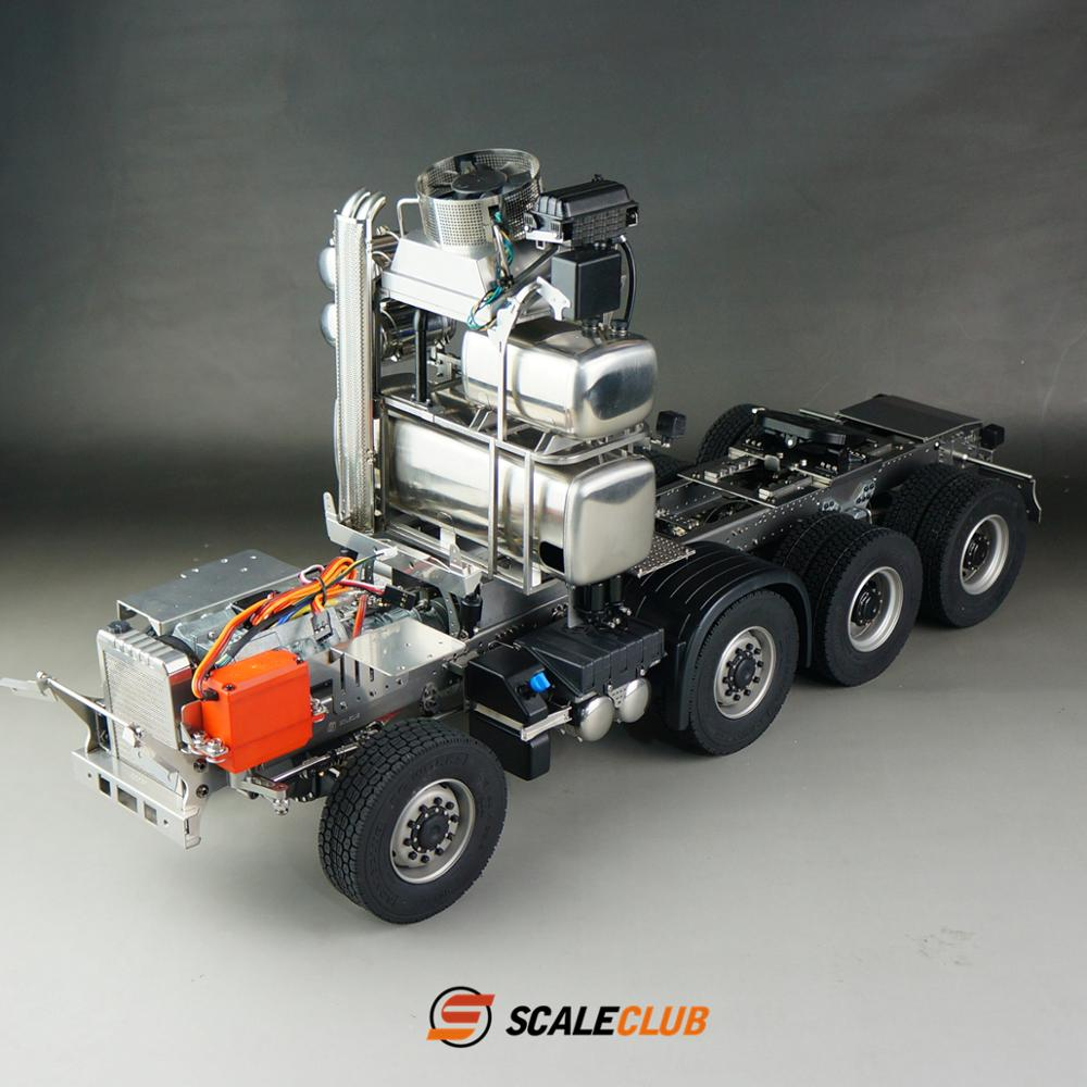 1/14 Scaleclub MAN RC Tractor Truck Chassis Suspension C Without Servo Light Sound Radio ESC Motor