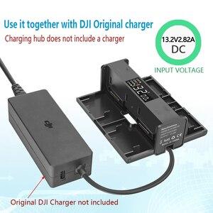 Image 5 - 4IN1 バッテリー充電ベーススチュワード家政婦執事延長ハブユニバーサル充電器dji mavicため空気 2 ドローン