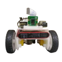 Programmable Automatic Drive Robot Car Kit Educational Learning Kit For Children Kids Developmental Early Educational Toys Gift(China)