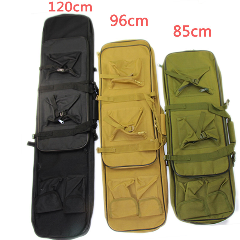 Airsoft 85 96 120cm Gun Bag Case Rifle Backpack Military Hunting Dual Rifle Bag Case Square Carry Bags Outdoor Gun Accessories