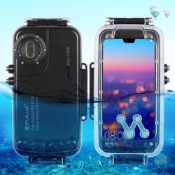 PULUZ 40m/130ft Waterproof Diving Housing Photo Video Taking Underwater Cover Case for Huawei P20