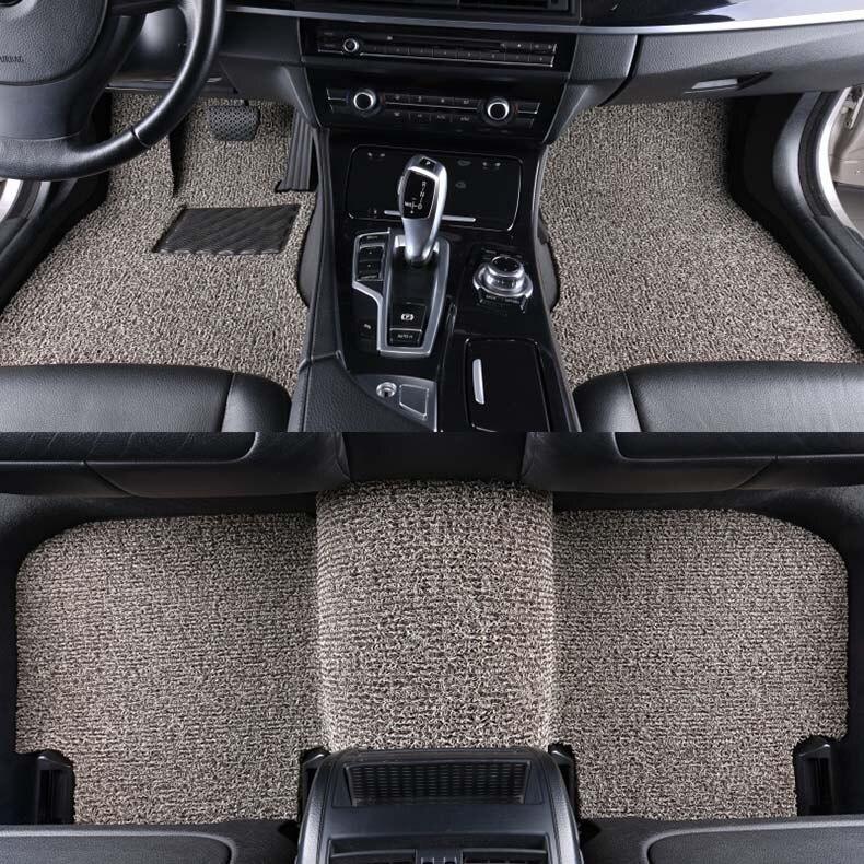 FOR Suzuki Alto Ignis Kizashi UNIVERSAL CAR FLOOR MATS BLACK WITH BLACK TRIM