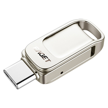 Eaget FU68 USB 3,0-Stick Fingerprint Verschlüsselt USB Disk Tragbare U Disk Thumb Drive Pen Drive 32G 64G 128G