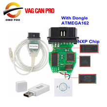 VAG CAN PRO V5.5.1 With Dongle with FTDI FT245RL Chip VCP OBD2 Diagnostic Interface USB Cable Support Can Bus UDS K Line