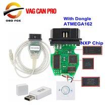 Vag canプロV5.5.1とドングルとftdi FT245RLチップvcp OBD2診断インターフェイスusbケーブルサポートcanバスuds kライン