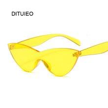 Cateye – lunettes de soleil rétro pour femmes, Vintage, jaune, rose, marque de styliste, Superstar, œil de chat, nouvelle collection