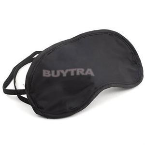 Black Sleeping Eye Mask Cover for Travel Rest Health Care to Shield The Light Eyeshade Relieve Fatigue Sponge Eye Mask