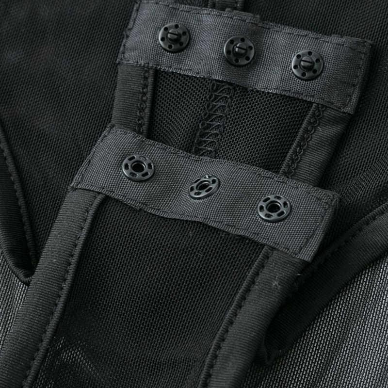 Sebowel sexy feminino preto bandagem bodysuit mulher pura bodycon malha sem mangas bodysuits ver-através macacões feminino corpo topos