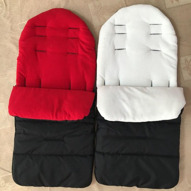 1 шт./лот, зимний и осенний детский спальный водонепроницаемый теплый детский мешок, сумка для коляски