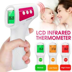 Forehead Thermometer Non Contact Infrared Thermometer Body Temperature Fever Digital Measure Tool for Baby Adult in stock