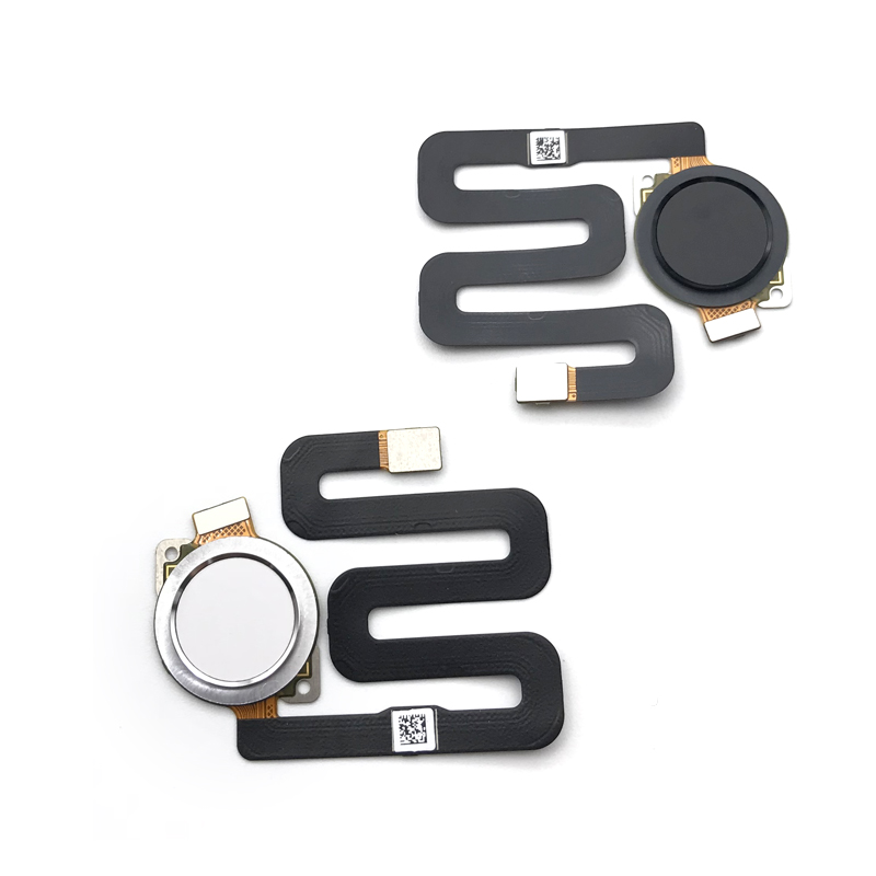 10Pcs/lot,100% Tested Home Button Fingerprint Scanner Touch ID Sensor Flex Cable For motorola Moto P30 Play
